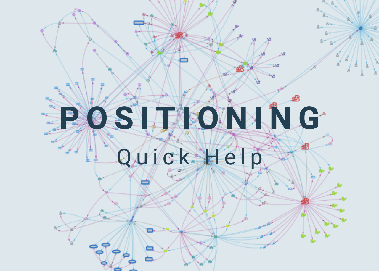 Positionning Quick Help