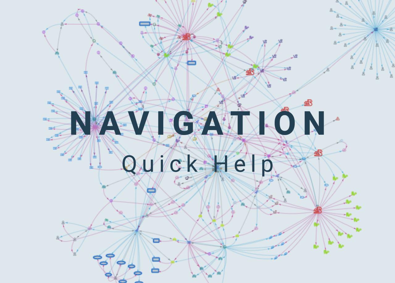 Navigation Quick Help